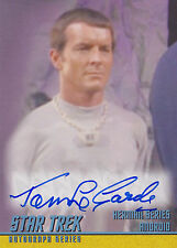 Star Trek TOS Remastered Autograph Card A252 Tom LeGarde