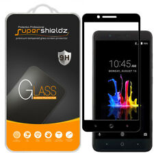 2X Supershieldz ZTE Blade Z Max Full Cover Tempered Glass Screen Protector Black