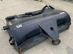 "Caterpillar BP18B Sweeper Skid Loader/Steer Street Sweeper Attachment Broom 77"""
