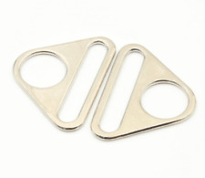 38mm Metal Triangles With Bar Swivel Clip D Ring Buckle Straps