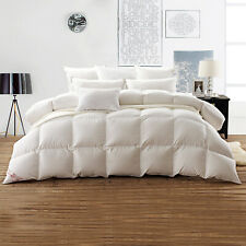 Snowman Luxurious King Goose Down Comforter 750 Fill Power 100% Egyptian cotton