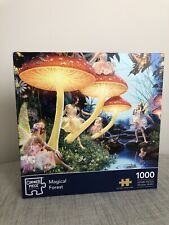 Corner Piece 1000 Piece Jigsaw Puzzle Magical Forest