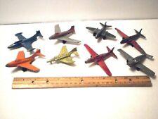 "Vintage Tootsietoy 3""-4"" Toy Diecast Airplane Lot"
