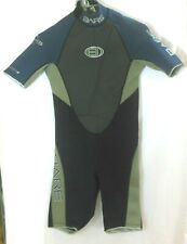 New listing Bare Wet Suit XS Black Blue Green Shorty Spring 2.2 Velocity Hydro Stretch VGUC
