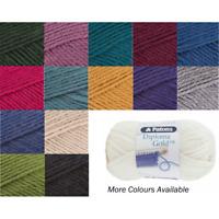 Patons Diploma Gold Double Knitting Knit Yarn Craft Wool 50g Ball