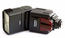 SIGMA EF 500 DG ST EO ELECTRONIC SWIVEL TILT FLASH for CANON CAMERA. WORKS FINE