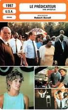 FICHE CINEMA : LE PREDICATEUR - Duvall,Allen,Bagget 1997 The Apostle