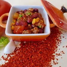 250g Chiliflocken, Crushed Chili, Chili-Flocken, fein geschrotet, mittelscharf