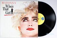 Madonna - Who's That Girl (1987) Vinyl LP •PLAY-GRADED• Soundtrack, Club Nouveau