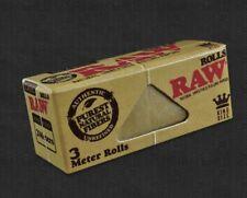 5x Zigarettenpapier RAW  Zigaretten Papier King Size CLASSIC ROLL 3M
