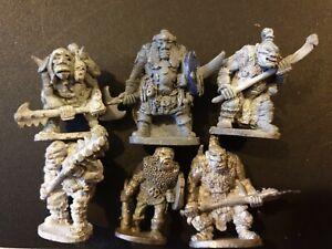 6x N14 ogre nick lunds chronicle via citadel gw games workshop ogres pre-slotta