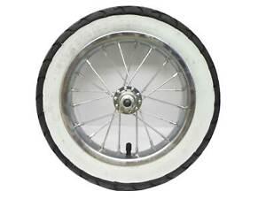 Razor Pocket Mod Front Wheel Complete w/ White Wall