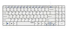 Rapoo n7200-Wired, cable atado 2 bloque Keyboard Blade series White - (deu L.A.