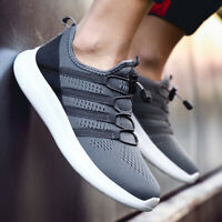 Breathable Mens Sneakers Running Size 7-14 Sports Casual Athletic Fitness Shoes