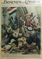 LA DOMENICA DEL CORRIERE N.30 1958 COLPO DI STATO IN IRAQ