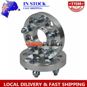 2PCS 5Lugs Wheel Spacers For Nissan Skyline S13 S14 S15 R32 R33 20mm 5X114.3