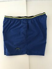 Cheetah Men's Shorts size Xl Blue Sport Retro Neon Athletic Mesh vintage #R27