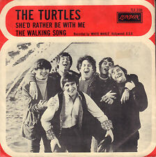 "TURTLES ‎– She'd Rather Be With Me (1967 VINYL SINGLE 7"" NICE DUTCH PS)"