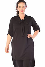 Polyester Tunic Casual Multi-Colored Dresses for Women