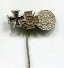Original WWI German Iron Cross 3 Medals Stickpin No 3