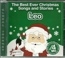 LEO - THE BEST EVER CHRISTMAS SONGS & STORIES PERSONALISED CD