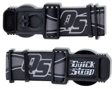 GOGGLE QUICK RELEASE STRAPS STRAP HELMET BLACK MOTOCROSS ENDURO PROGRIP