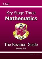 KS3 Maths Study Guide - Higher: Levels 5-8 (Revision Guides),Richard Parsons