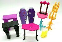 Monster High Doll Accessories Furniture Lot Mattel
