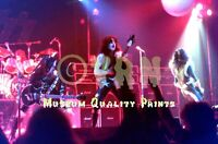 Paul Stanley KISS Ace in Spotlight Detroit '77 - ARCHIVAL Photo (8.5x11) AWESOME