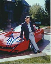 JAY LENO Signed FERRARI Photo w/ Hologram COA