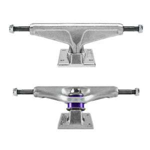 "Venture Skateboard Trucks Standard Polished 5.2 Low - 8.0"" Axle, Silver, Pair"