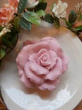 White Tea Ginger Pink Flower Palm Oil and Glycerine, full Soap handmade 2 bars
