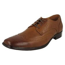MENS SKECHERS MARK NASON LACE UP LEATHER SQUARE TOE FORMAL WORK SHOES EVENTIDE