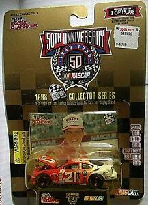 RC-NASCAR 1998 PRESS PASS SERIES-#21 CITGO- MICHAEL WALTRIP - LE-19,998 - RRs