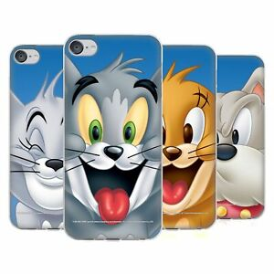 OFFICIAL TOM AND JERRY FULL FACE SOFT GEL CASE FOR APPLE iPOD TOUCH MP3