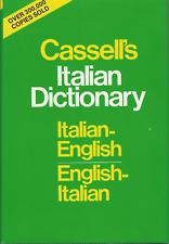 Cassells Standard Italian Dictionary, Thumb-indexed by Piero Rebora