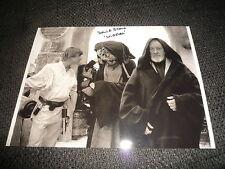 """David Stone signed autógrafo en 20x28 cm """"star wars"""" imagen inperson Look"""