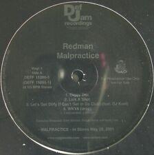 "REDMAN ""MALPRACTICE"" 2001 2X VINYL LP ALBUM PROMO DJ KOOL, KEITH MURRAY *SEALED*"
