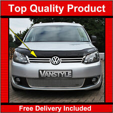 VW CADDY / MAXI CHROME FRONT GRILLE 10>15 QUALITY STAINLESS STEEL RADIATOR GRILL