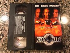 Con Air Rare VHS! 1997 Action Thriller! Armageddon Storm Catcher The Rock