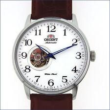 Orient Esteem 21-Jewel Automatic Watch w/Open-Heart Dial, 42.5mm Case #DB08005W