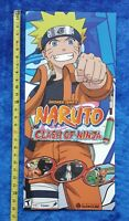Naruto: Clash of Ninja Video Game Store Display Poster 2006 Nintendo Gamecube
