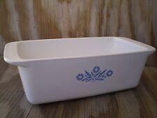 Corning Ware Cornflower Blue 9 X 5  X 3 Loaf 2 Quart Baking Pan
