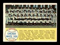 1958 Topps Set Break # 256 Chicago White Sox Team Card VG-EX *OBGcards*