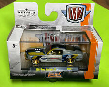 M2 MACHINES RAW CHASE 1968 FORD MUSTANG GT AUTO-MODS AM07 1 0F 250,Free Shipping