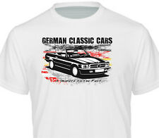 T-Shirt weiss Color Oldtimer SL W107 R107 280 380 450 560 1971–1989 Mercedes