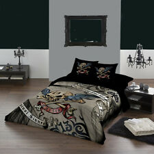 "Gothic CURSED Super King king size duvet cover set USA102""x 86"" UK 260 x220cm"