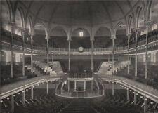 The Metropolitan Tabernacle . London. Churches 1896 old antique print picture
