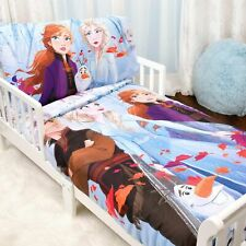 Disney Frozen II 3 PC Toddler Bedding Set-Comforter, Fitted Sheet and Pillowcase