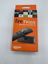 Amazon Fire TV Stick with Alexa Voice Remote Streaming Unused Free Shipping